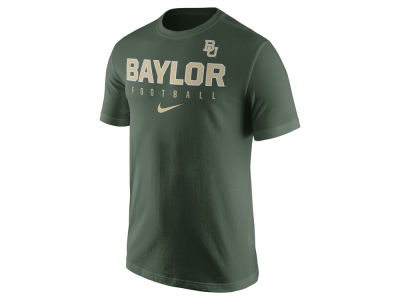 Baylor Bears Nike NCAA Mens Cotton Practice T-Shirt
