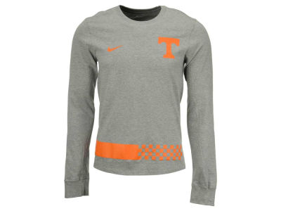 Tennessee Volunteers Nike NCAA Men's Cotton Belt Stripe Long Sleeve T-Shirt
