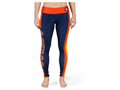 Houston Astros MLB Women's Team Stripe Leggings