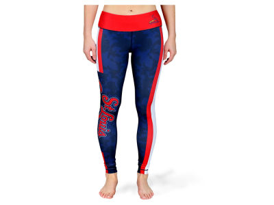 St. Louis Cardinals MLB Women's Team Stripe Leggings