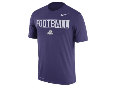 Texas Christian Horned Frogs Nike NCAA Men's Legend Football T-Shirt