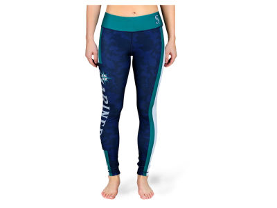 Seattle Mariners MLB Women's Team Stripe Leggings