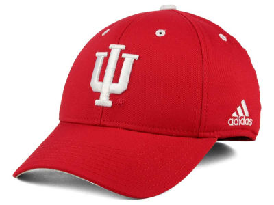 Indiana Hoosiers adidas NCAA On Field Replica Flex Cap