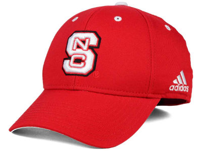 North Carolina State Wolfpack adidas NCAA On Field Replica Flex Cap