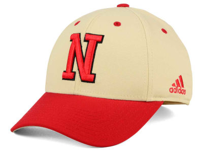Nebraska Cornhuskers adidas NCAA On Field Replica Flex Cap