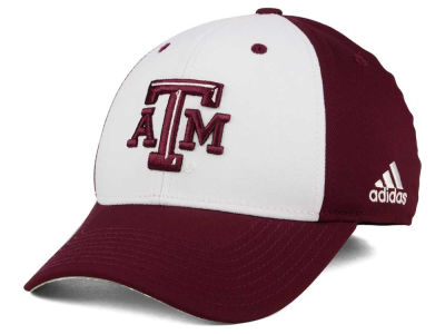 Texas A&M Aggies adidas NCAA On Field Replica Flex Cap