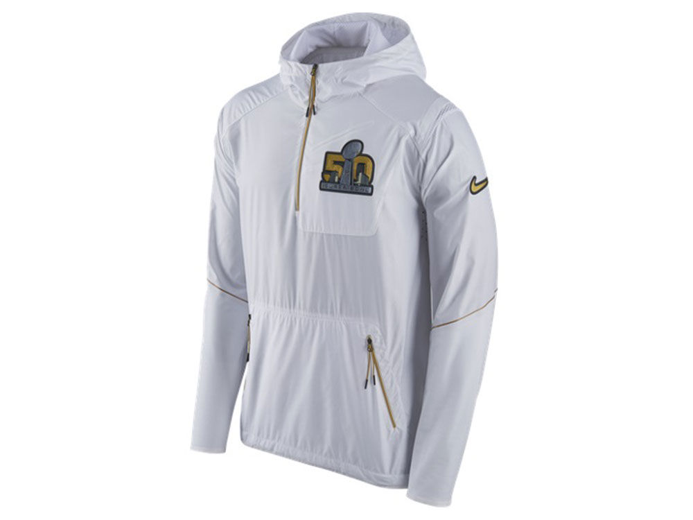 d6c3c5418 Super Bowl 50 Nike NFL Men's Super Bowl 50 Gen Vapor Fly Rush Half Zip  Hoodie | lids.com