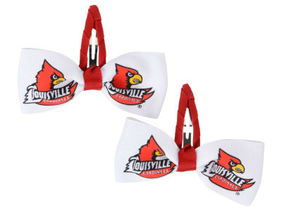 Louisville Cardinals Hair Clipplies