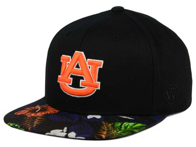 Auburn Tigers Top of the World NCAA Paradise Snapback Cap