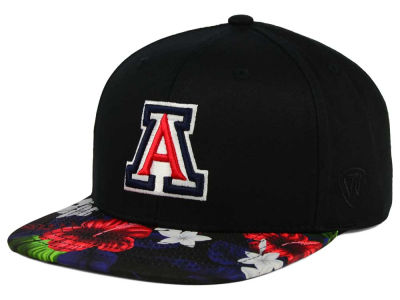 Arizona Wildcats Top of the World NCAA Paradise Snapback Cap