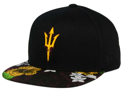 Arizona State Sun Devils Top of the World NCAA Paradise Snapback Cap
