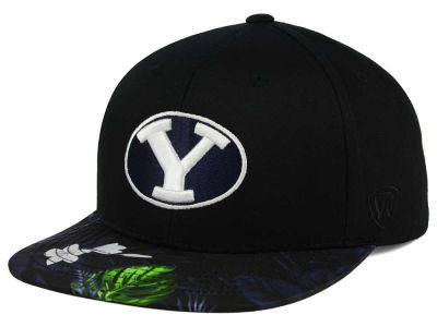 Brigham Young Cougars Top of the World NCAA Paradise Snapback Cap