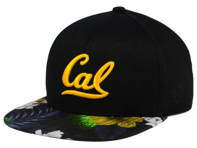 California Golden Bears Top of the World NCAA Paradise Snapback Cap