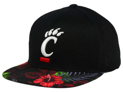 Cincinnati Bearcats Top of the World NCAA Paradise Snapback Cap