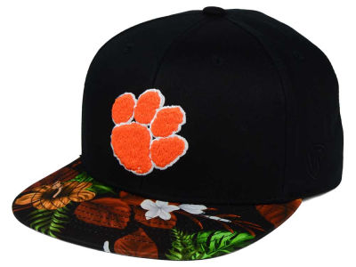 Clemson Tigers Top of the World NCAA Paradise Snapback Cap