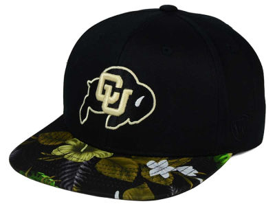 Colorado Buffaloes Top of the World NCAA Paradise Snapback Cap
