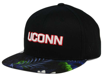 Connecticut Huskies Top of the World NCAA Paradise Snapback Cap
