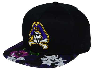 East Carolina Pirates Top of the World NCAA Paradise Snapback Cap