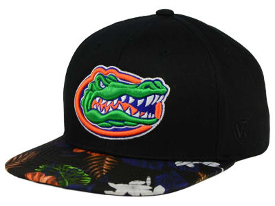 Florida Gators Top of the World NCAA Paradise Snapback Cap