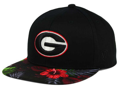 Georgia Bulldogs Top of the World NCAA Paradise Snapback Cap