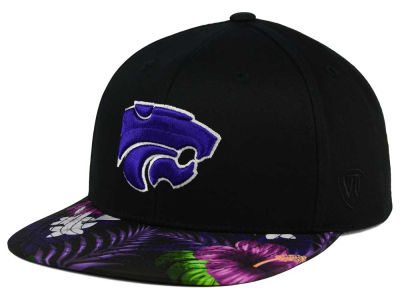 Kansas State Wildcats Top of the World NCAA Paradise Snapback Cap