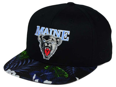 Maine Black Bears Top of the World NCAA Paradise Snapback Cap