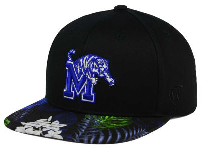 Memphis Tigers Top of the World NCAA Paradise Snapback Cap