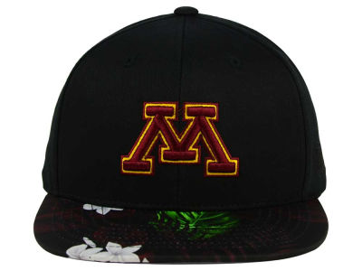 Minnesota Golden Gophers Top of the World NCAA Paradise Snapback Cap