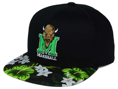 Marshall Thundering Herd Top of the World NCAA Paradise Snapback Cap