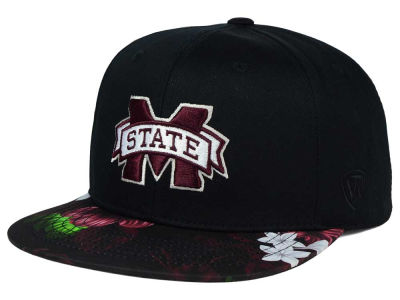 Mississippi State Bulldogs Top of the World NCAA Paradise Snapback Cap