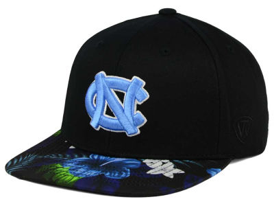 North Carolina Tar Heels Top of the World NCAA Paradise Snapback Cap