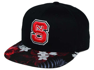 North Carolina State Wolfpack Top of the World NCAA Paradise Snapback Cap
