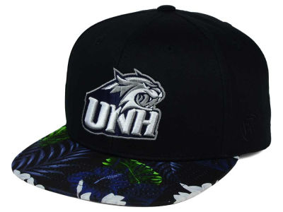 New Hampshire Wildcats Top of the World NCAA Paradise Snapback Cap