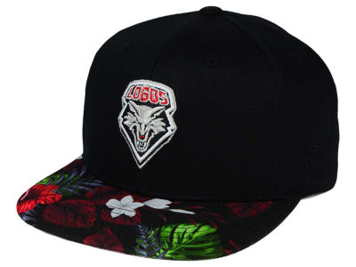 New Mexico Lobos Top of the World NCAA Paradise Snapback Cap