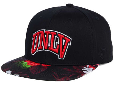 UNLV Runnin Rebels Top of the World NCAA Paradise Snapback Cap