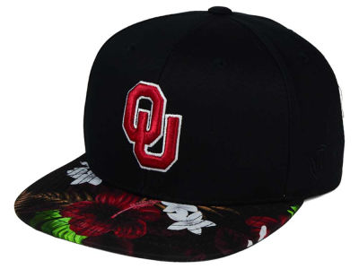 Oklahoma Sooners Top of the World NCAA Paradise Snapback Cap