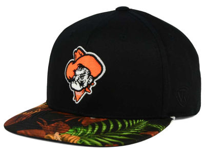 Oklahoma State Cowboys Top of the World NCAA Paradise Snapback Cap