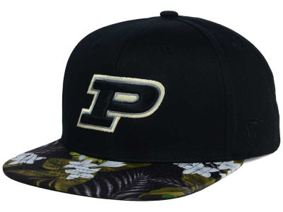 Purdue Boilermakers Top of the World NCAA Paradise Snapback Cap