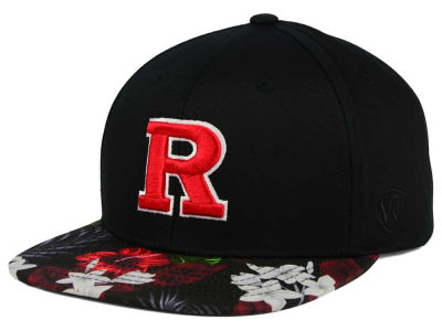 Rutgers Scarlet Knights Top of the World NCAA Paradise Snapback Cap