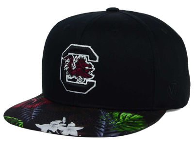 South Carolina Gamecocks Top of the World NCAA Paradise Snapback Cap