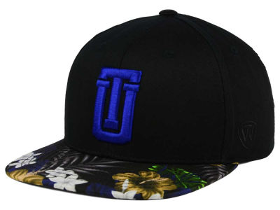 Tulsa Golden Hurricane Top of the World NCAA Paradise Snapback Cap