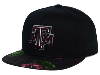 Texas A&M Aggies Top of the World NCAA Paradise Snapback Cap