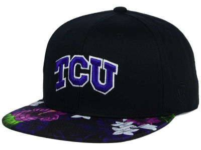 Texas Christian Horned Frogs Top of the World NCAA Paradise Snapback Cap