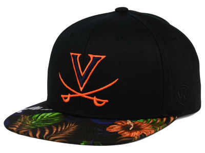 Virginia Cavaliers Top of the World NCAA Paradise Snapback Cap