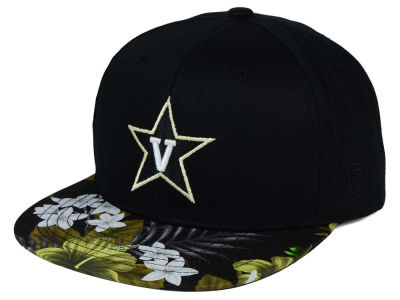 Vanderbilt Commodores Top of the World NCAA Paradise Snapback Cap