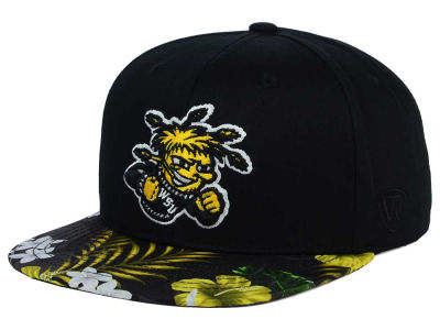 Wichita State Shockers Top of the World NCAA Paradise Snapback Cap