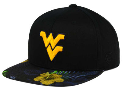 West Virginia Mountaineers Top of the World NCAA Paradise Snapback Cap