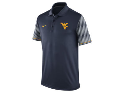 West Virginia Mountaineers Nike NCAA Men's Early Season Coach Polo Shirt
