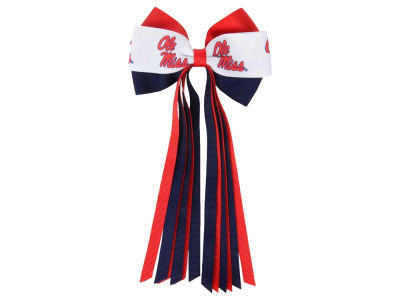 Ole Miss Rebels Streamer Bow