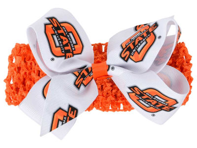 Oklahoma State Cowboys Crocheted Headband With Jr Bow